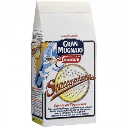 """Gran Mugnaio """"Staccapizza"""" Mehlmischung für den Pizzatisch"""