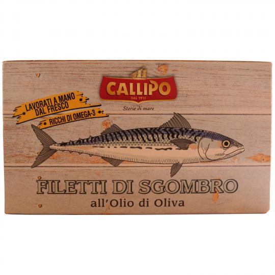 Filetti di Sgombro all'olio di oliva - Makrelenfilets in Olivenöl